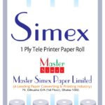 Thermal Fax Paper Roll01